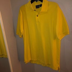 vibrant yellow jos. a. bank polo